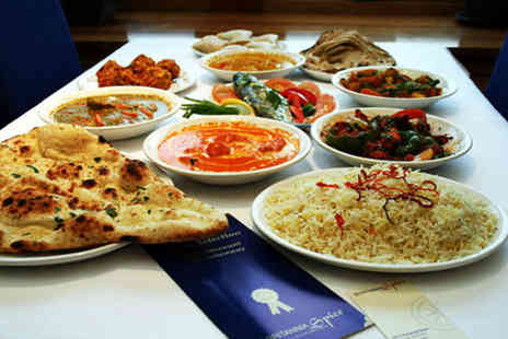 Britannia Spice - Two course Indian meal for two including rice or naan - Save 51%