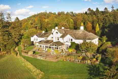 The Ryebeck Country House & Restaurant - Three course dinner & mulled wine with Windermere views - Save 41%
