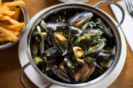 Belgo - Pot of Mussels with Side and Drink - Save 50%