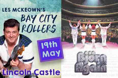 Live Promotions Events - General admission ticket to see Les McKeowns Bay City Rollers and ABBA tribute band Bjorn Again, supported by Odyssey live - Save 25%