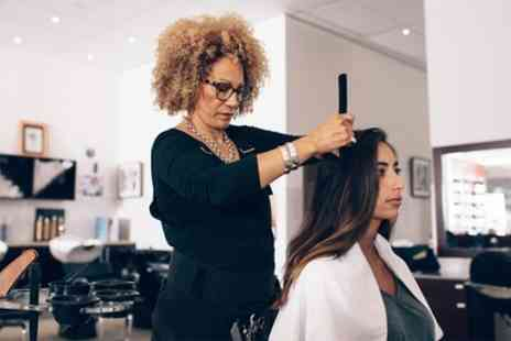 Manilux - Wash, Cut, Blow Dry and Conditioning with Optional Half Head Highlights or Full Head Colour - Save 54%