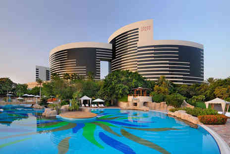Grand Hyatt Dubai - Five Star Contemporary Style on Dubai Creek For Two - Save 62%