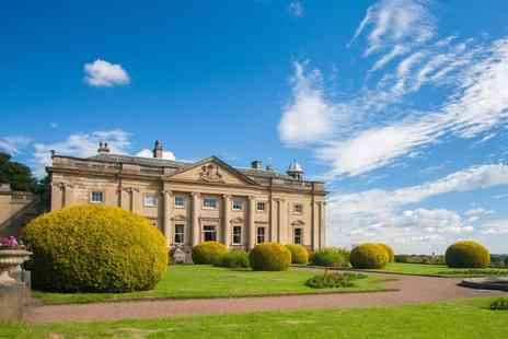 Wortley Hall - One or two night stay for two with breakfast, a bottle of Prosecco and cream tea - Save 40%