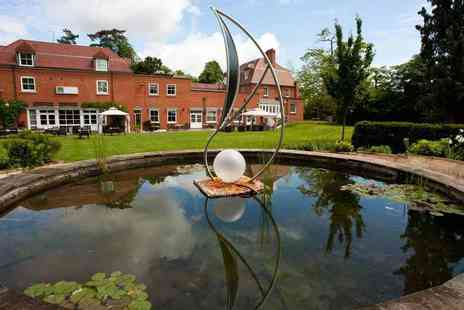 Pinewood Hotel - Four Star overnight Buckinghamshire stay for two people with a two course dinner, breakfast, bottle of Prosecco on arrival and leisure access - Save 57%