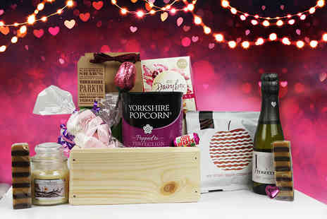 Black Cat Hampers & Gifts - Mothers Day hamper including prosecco, a candle, and sweet treats - Save 53%