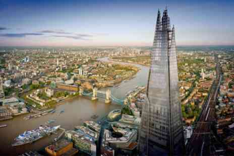The View from The Shard - The View from The Shard with Optional Champagne or VR Experience - Save 17%