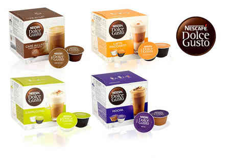 Euro Coffee Pods - Three boxes containing 48 Nescafe pods - Save 69%