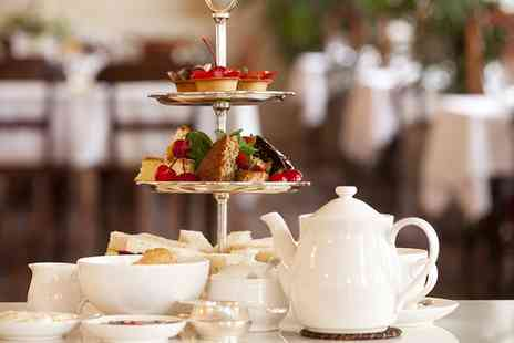 The Grange Manor - Savoury afternoon tea for two - Save 50%