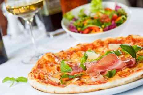 Papavero - Pizza or Pasta for Two or Four with a Glass of Wine Each - Save 50%