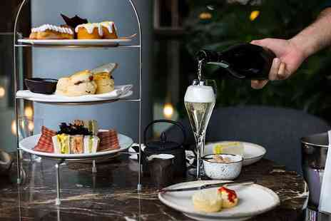 Plate Restaurant & Bar - Afternoon tea for two with a bottle of Prosecco to share - Save 56%