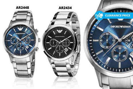 Wristy Business - Mens Emporio Armani watch choose from two designs - Save 59%