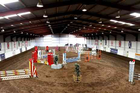 Mackenzies Equestrian Centre - One Hour Horse Riding Lesson for One or Two - Save 51%
