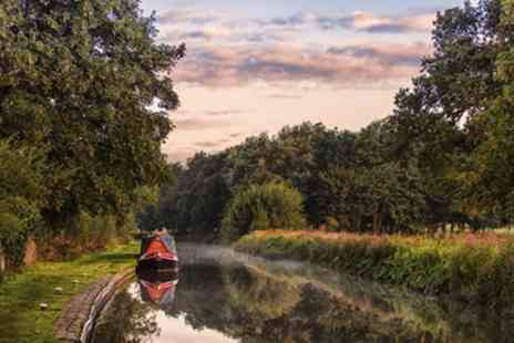 Lancashire Canal Cruises - Lancs barge cruise for 2 inc afternoon tea - Save 50%