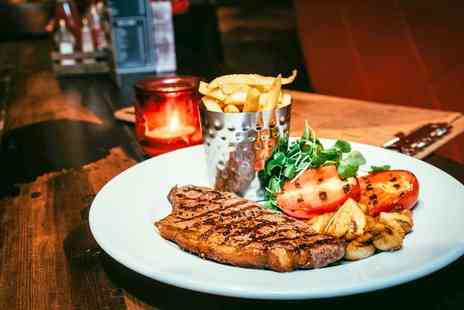 Saint Judes - Sirloin or Rib Eye Steak Dinner for Two or Four - Save 50%
