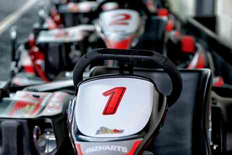 Team Karting - 20 or 40 Minute Go Karting Experience - Save 40%