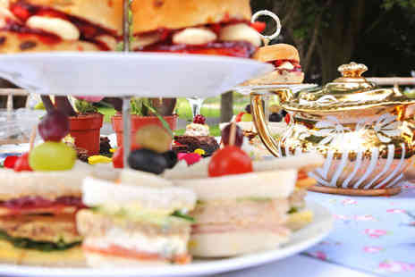 The Wroxeter Hotel - English Garden Afternoon Tea for two people - Save 52%