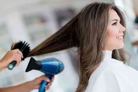 Top To Toe - Cut and Blow Dry with Optional Half Head of Highlights - Save 48%