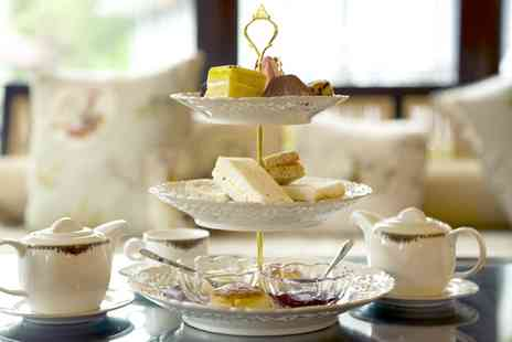 Britannia Hotel - Afternoon Tea with Optional Glass or Bottle of Prosecco for Two or Four - Save 43%