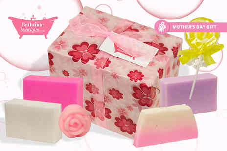 Bathtime Boutique - Luxury assorted soap gift set - Save 59%