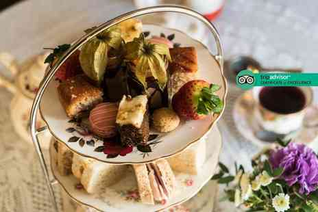 The Dearden Tearooms - Afternoon tea for two with a glass of Prosecco each - Save 46%
