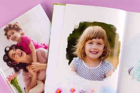 Colorland - Up to Five Personalised A4 Landscape Hardcover Photobooks - Save 88%
