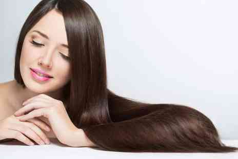 Val Beautique Salon - Keratin Brazilian blow dry treatment - Save 57%
