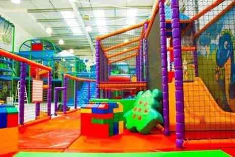 Kidz Fantasy Land - Soft Play Entry and Jug of Juice for Two or Four Kids - Save 50%