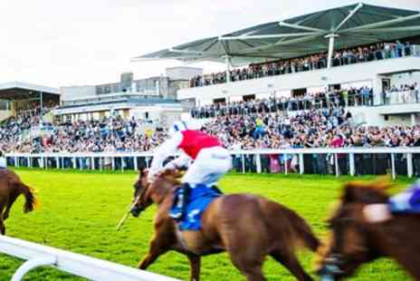Bath Racecourse - Bank holiday raceday in Bath for 2 - Save 42%