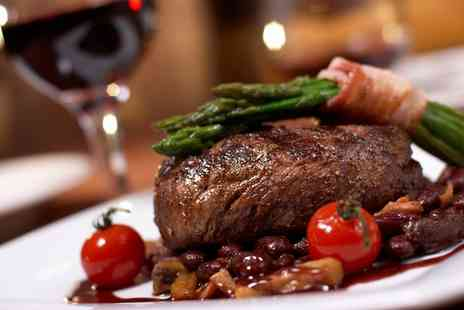 Ingram Wynd - Sirloin Steak with Chips and Glass of Wine or Bottle of Beer for Two or Four - Save 52%