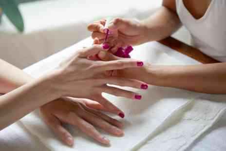 Crystal Diamond Clinics - Gel Manicure, Pedicure, or Both - Save 40%