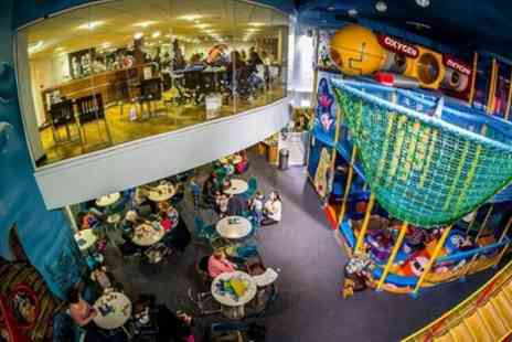 The Dolphin Centre - Soft Play Entry for Two Children and one adult - Save 0%