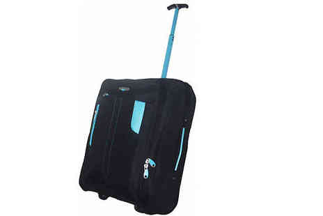 Pearl Info - Lightweight Wheeled Cabin Suitcase - Save 74%