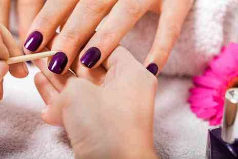 Dahlia Hair and Beauty - Express Shellac manicure and pedicure - Save 73%