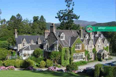 Penmaenuchaf Hall Hotel - One or two night Snowdonia stay for two with glass of sparkling wine each, breakfast, late check out and dining credit - Save 55%