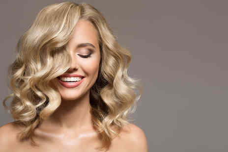 Craig Andrew Hairdressing - Half head of highlights or lowlights with OLAPLEX treatment, hair cut and blow dry - Save 71%