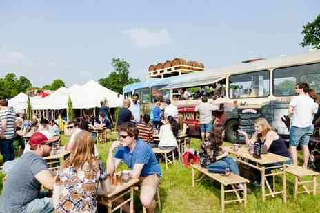 Foodies Festival - Ticket to Foodies Festival 2018 or VIP ticket including a glass of bubbly on arrival, goody bag, priority entry and more - Save 31%