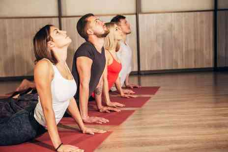 Not Just Yoga - Four yoga classes - Save 77%