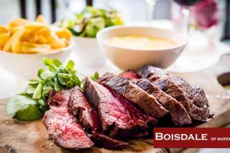 Boisdale of Mayfair - Chateaubriand, Side, Sauces and All You Can Eat Chips with Optional Champagne - Save 57%