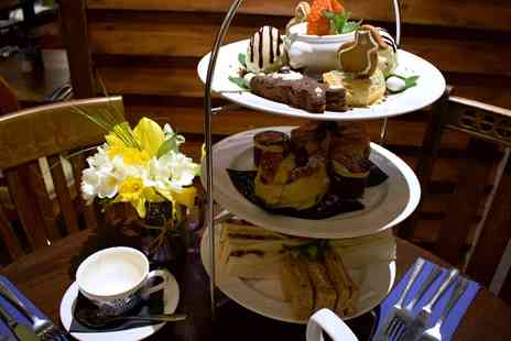 The Command House - High or Easter Afternoon Tea for Two with Optional Prosecco - Save 68%