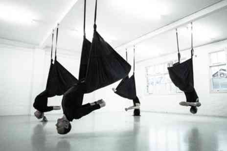 Suspension Yoga UK - One, Three or Five Aerial Yoga Classes - Save 50%