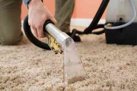 Authentic Five Star Cleaners - Carpet Cleaning Service for Up to Four Rooms and Hallway or Stairs - Save 44%