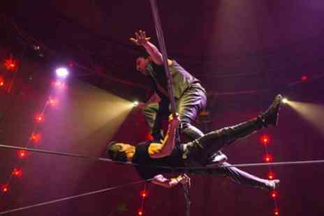 Circus Zyair - Two or Four Early Bird Tickets with Popcorn on 31 May To 3 June - Save 56%