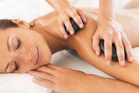 Chakra Bella - 30 Minute Back, Neck and Shoulder or 60 Minute Full Body Hot Stone Massage - Save 53%