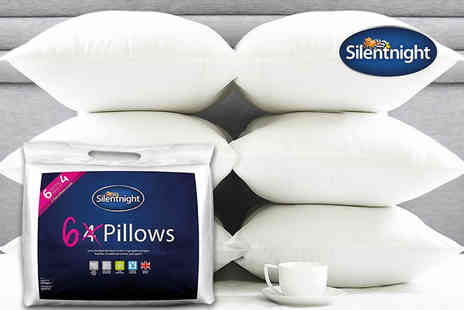 Chums - Six Silentnight pillows and protectors - Save 63%
