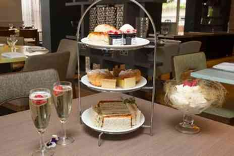 Hilton Newbury North Hotel - Afternoon Tea for Two or Four with Optional Prosecco - Save 32%