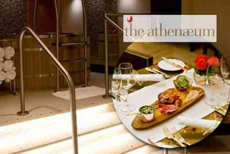 Athenaeum Spa at Athenaeum Hotel - Two Course Lunch with Manicure - Save 59%