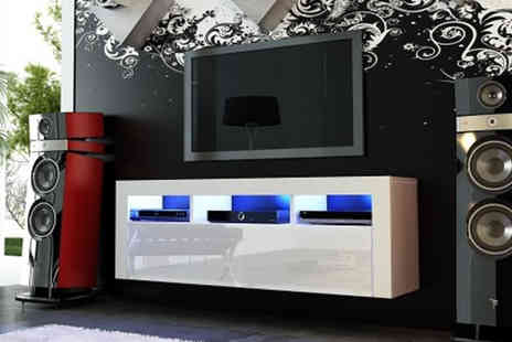 IQGB - 130cm modern gloss TV unit - Save 49%