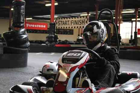 TeamKarting - 20 or 40 minute go karting experience with up to 50 laps with up to 100 laps - Save 40%