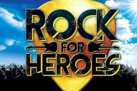Total Productions Theatres - Ticket to Rock for Heroes on the 12th April - Save 35%