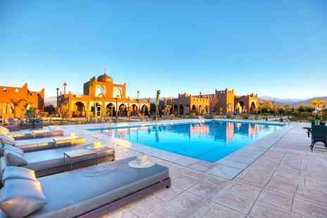 Via Holiday - Two or three night 5 Star Moroccan getaway with breakfast and return flights - Save 45%